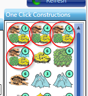 All Resource Mines One Click